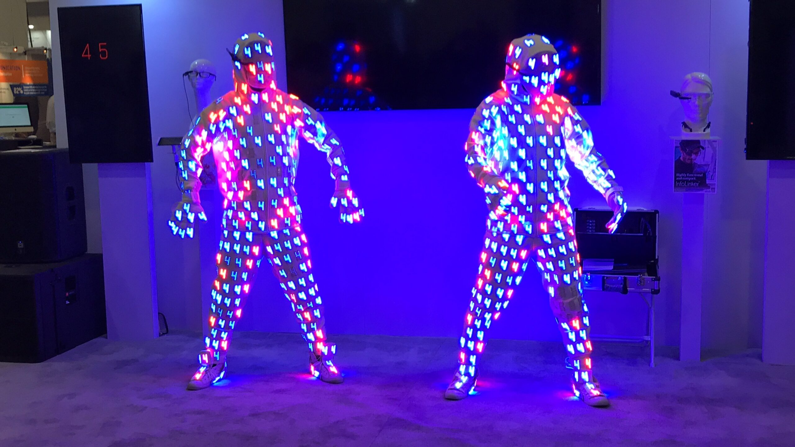 CES Dancers LED LIghts