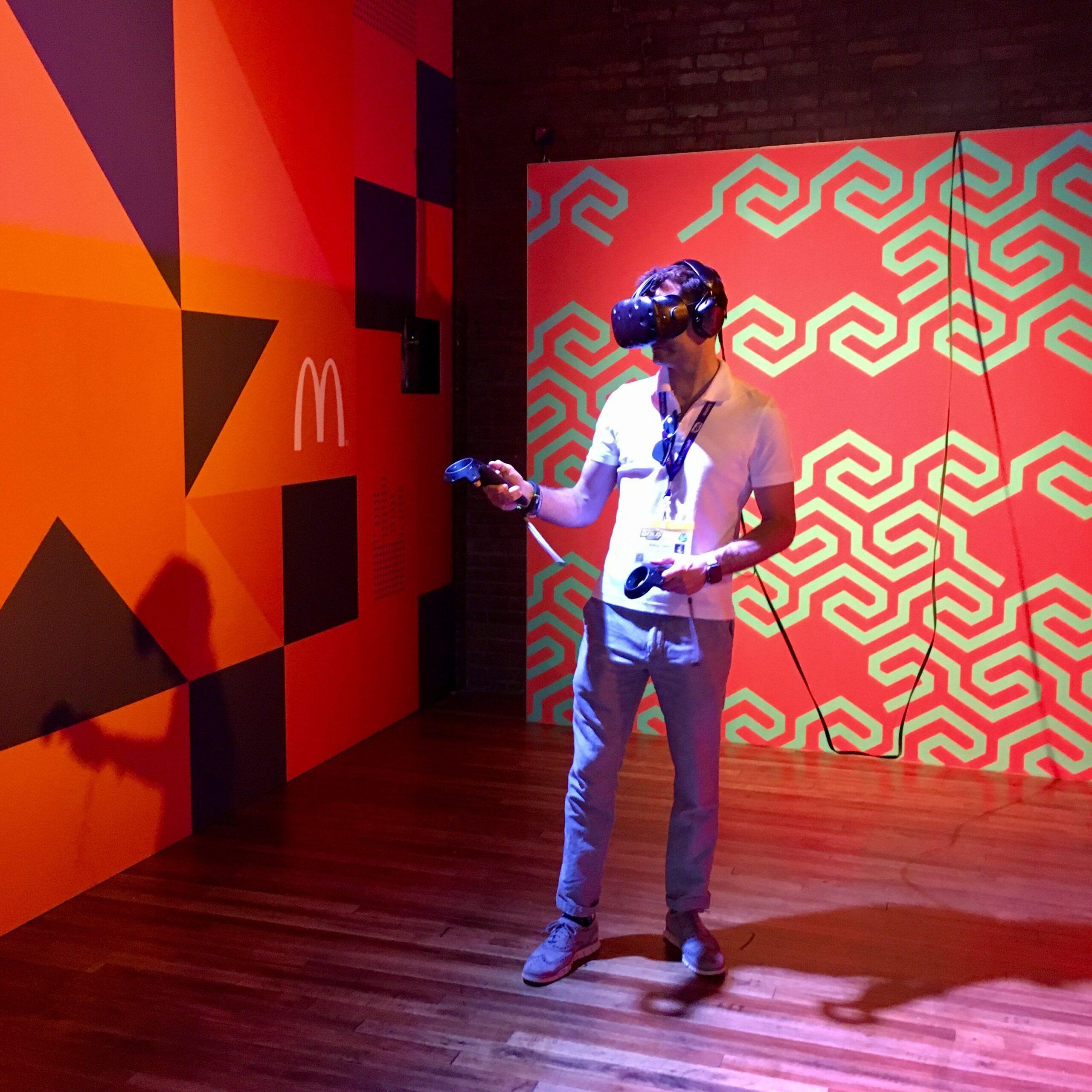 SXSW McDonald's VR Experience
